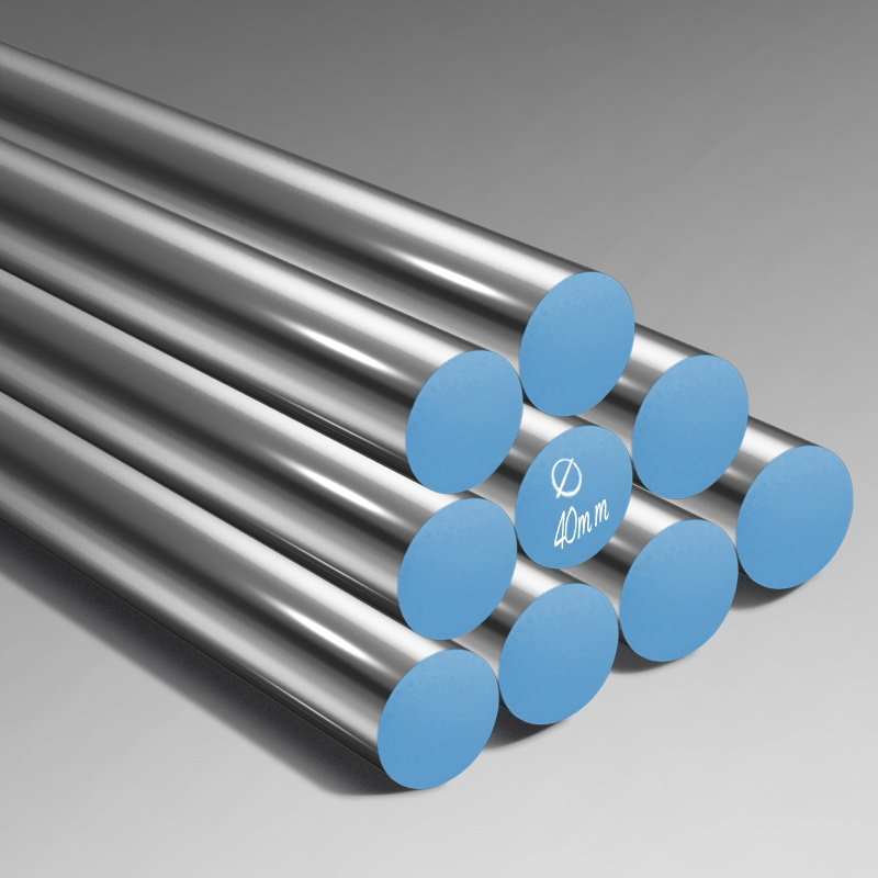 free cutting steel 1140 rod bars for cnc machines