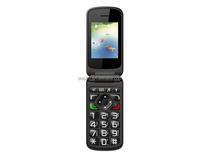 Elder Phone Vkworld Z2 2.4 inch TFT Display Screen Support Dual SIM Card/Torch/Camera Senior cell Phone Flip mobile phone