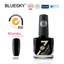 China top supplier Bluesky high quality hot selling 15ml bottle weekly nail polish