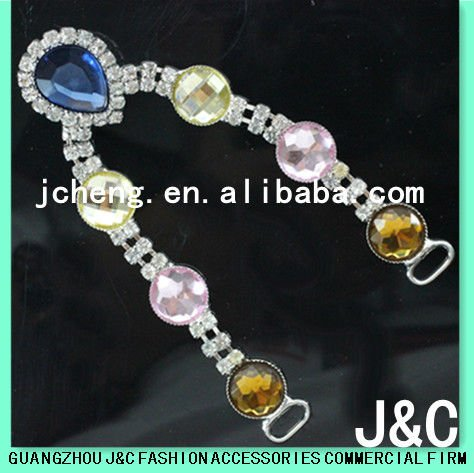 Fancy Crystal Chain For Shoe