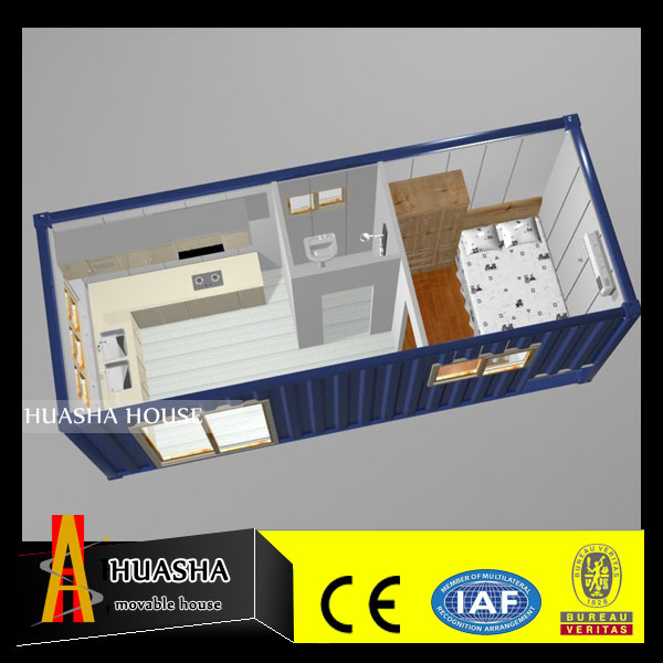 Collapsible two bedroom house plans with russian prefabricated house wooden