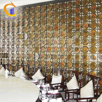Customized Restaurant Hotel Empty Carving Wall Art Decoration Panel Room Dividers Screens Partition