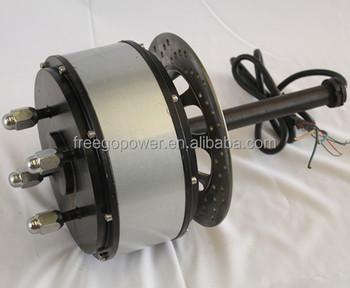 High power 48v 5000w brushless hub dc motor kit e bike kit for High power brushless dc motor