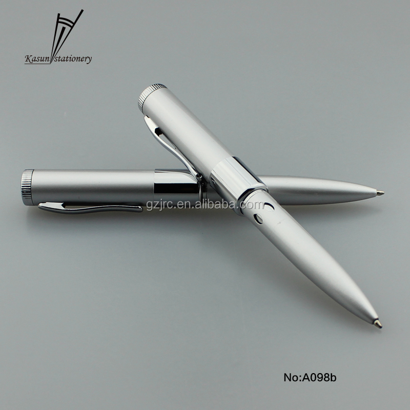 Manufacturer sale promotional high quality USB heavy metal ball point pen with USB