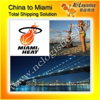 International shipping company Shenzhen to Miami