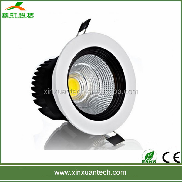 china manufacturer 8w cob led down light with Epistar chip Aluminum material