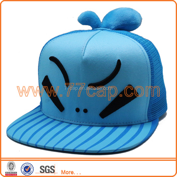 Kids Cartoon Hats Crazy Funny Kids Caps Kids Flat Caps Snapback