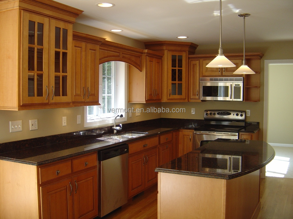 Solid Wood Kitchen Cabinets Pakistan Style