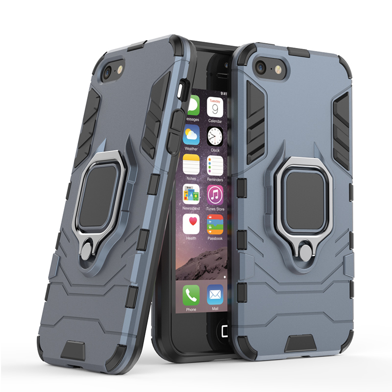 LCHDA Cover iPhone 5 Anello SupportoCustodia iPhone 5S SE con