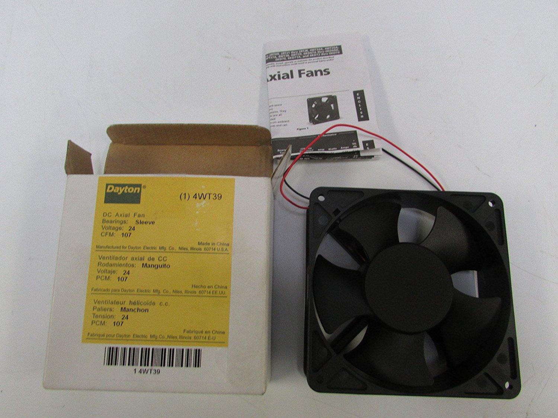 "230VAC DAYTON 4WT41 3-1//8/"" Square Axial Fan"