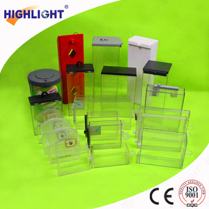 Highlight S017 shop/mall anti-shoplifting AM/RF/EM valued watch safer box CD eas safer battery safer box