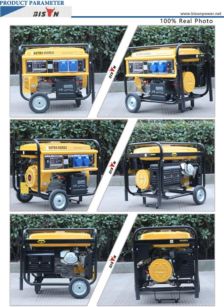 Diesel Generator For Sale >> 6kw astra korea generator BS7500H(H) | BISON