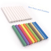 Non-Toxic White Dustless Blackboard Chalk (12 Piece) and Colored Dustless Chalk (12 Piece) Bundle good quality Menu board Chalk
