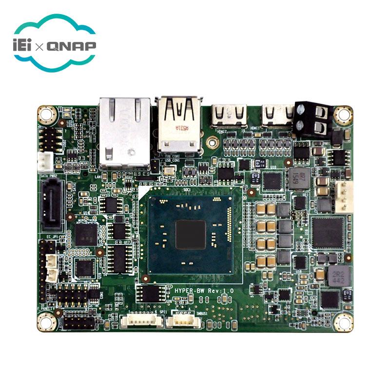 IEI HYPER-BW-E8 Pico-ITX SBC with Intel Atom 14nm quad-core x5-E8000 up to 2.00GHz (5W) on-board SoC