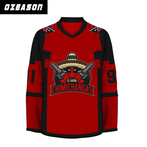 promo code 49c07 d04a6 China wholesale cheap funny design christmas hockey jerseys
