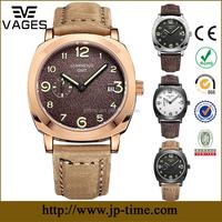 2017 classic simple retail cheap couple mens automatic steel waterproof mechanical self-wind wrist watch timing machine