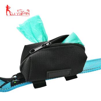 Dog Bag Dispenser Holder Leash Attachment Holeder No Dangle Waste Product On