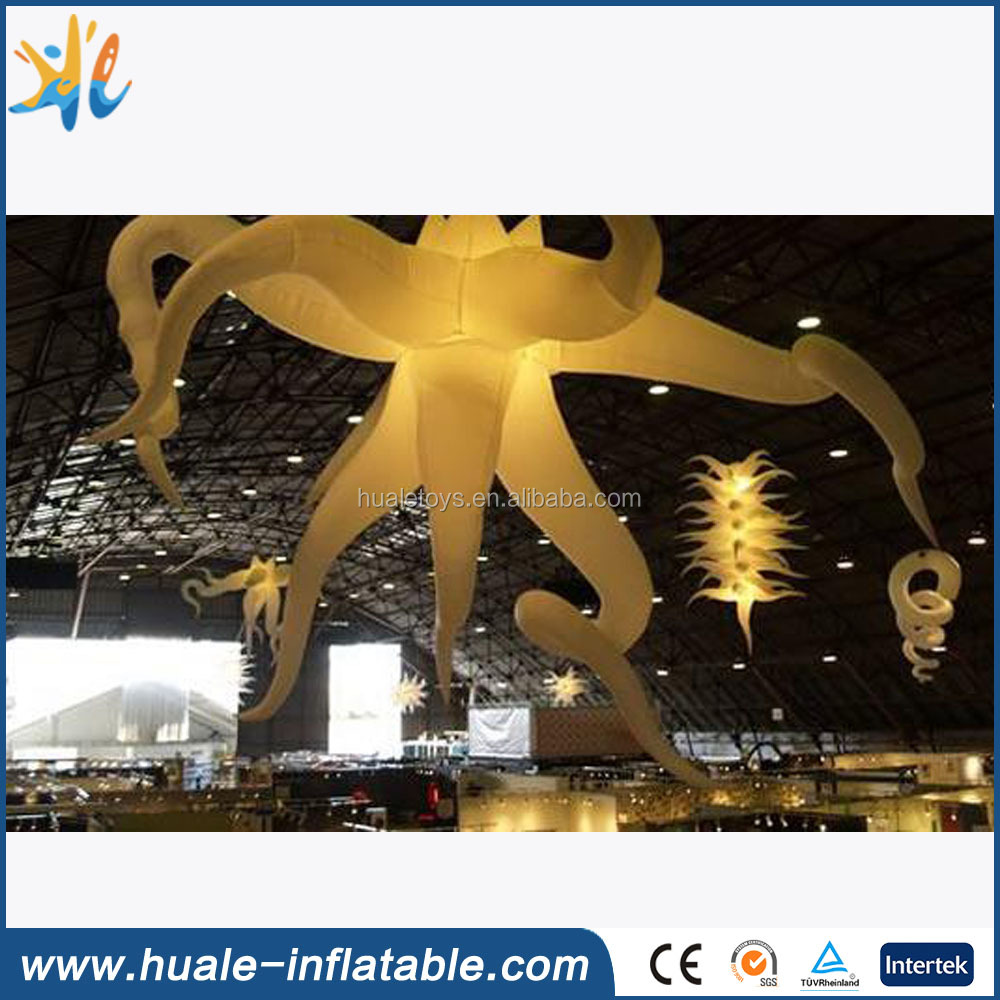 Customized inflatable model with led light