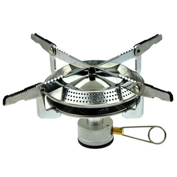 Mini Portable Outdoor Camping Gas Stove Picnic Burner Cooker