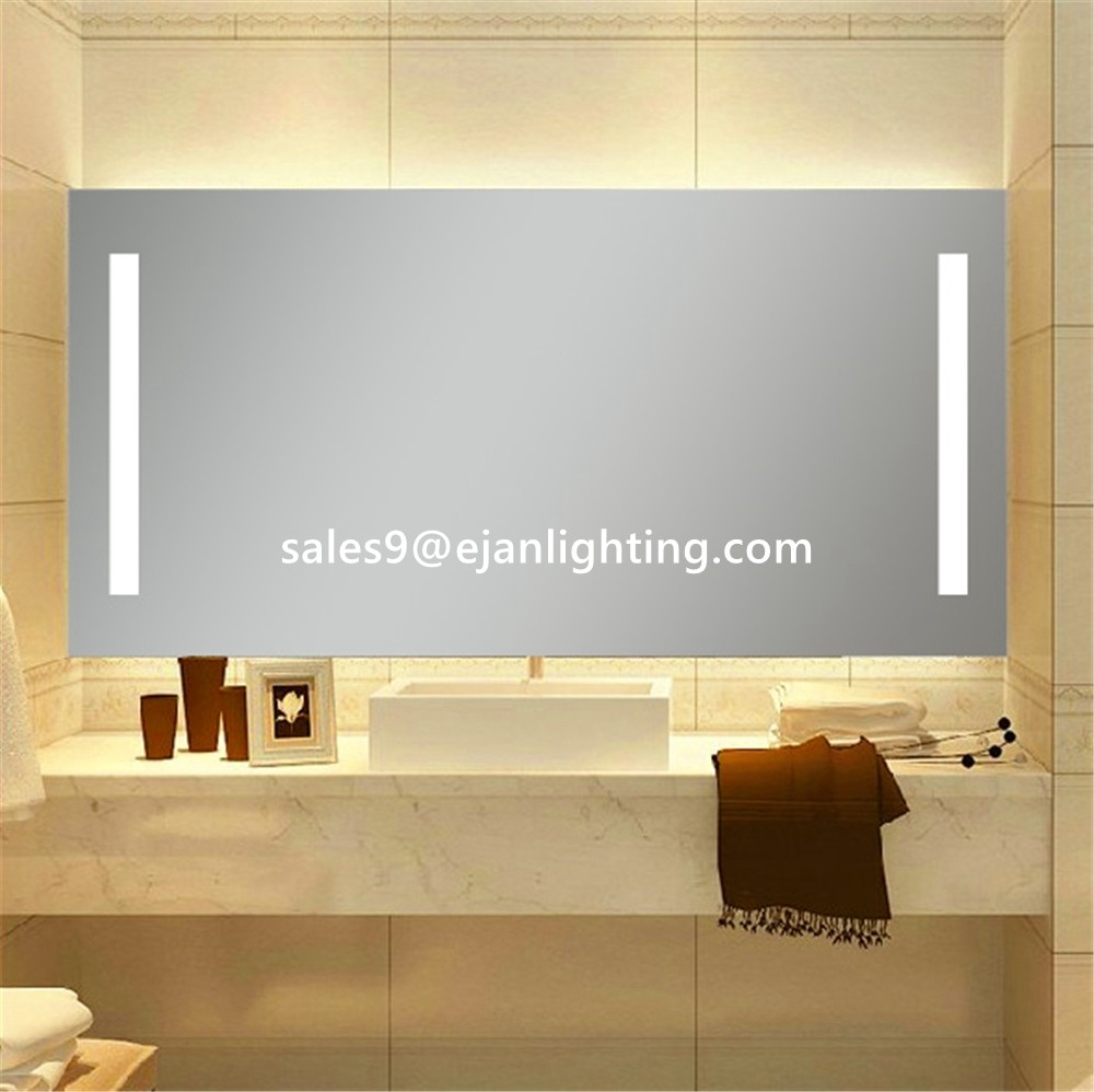 Lighted Vanity Mirror With Led Anti-fog Mirror Heater With Ip44 ...