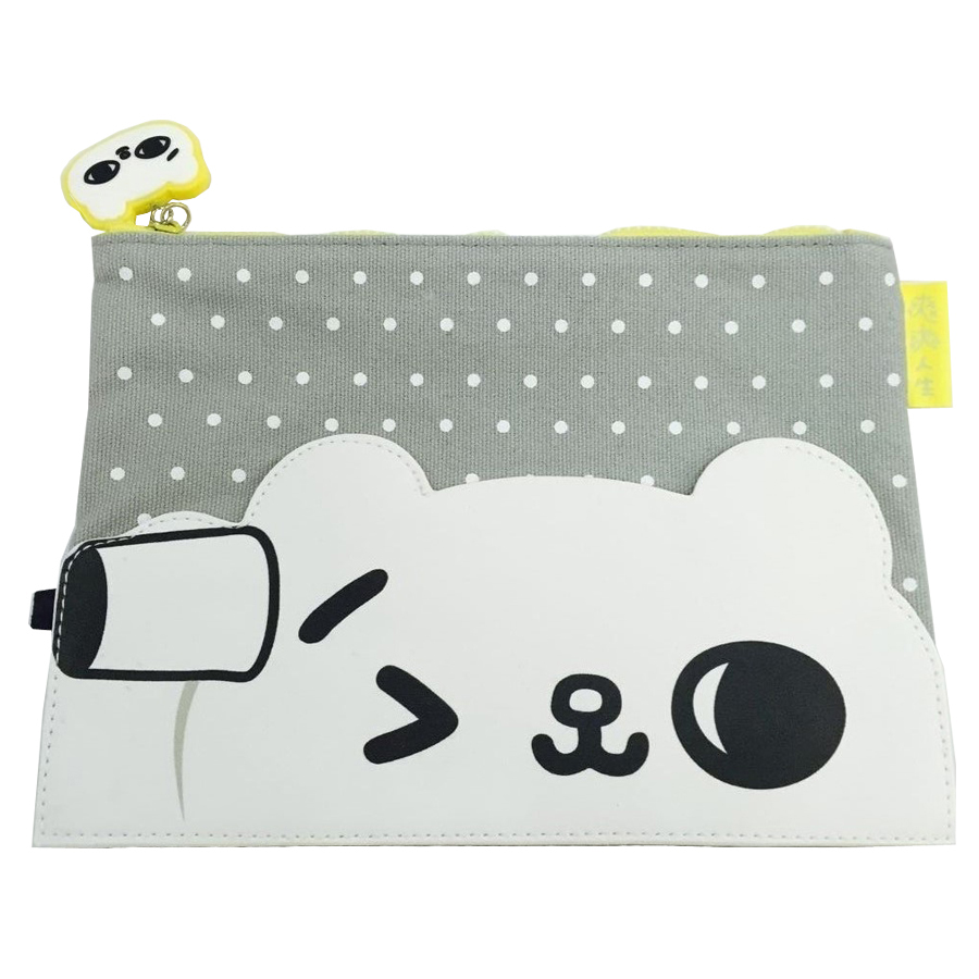 china manufacturer professional cute canvas cosmetic bag makeup organizer travel wash bag