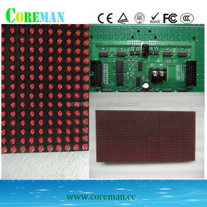 DIP single red p7.62 double color led panel led screen module factory large outdoor lcd display led screen 3.91 4.81 p3p4p5