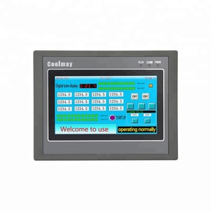 Coolmay EX3G-43HB-24MT highly integrated HMI/PLC all in one Analog MiniB type USB programming port can drive motor servo