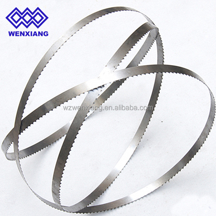 thin kerf precision ground band saw blades Cut Red Meat Pork Broilers Turkeys Seafood