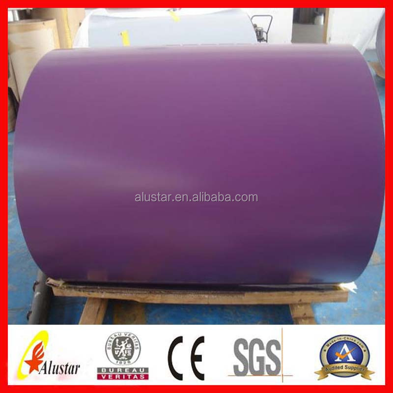 bright aluminum foil prepainted galvanized steel coil/color coated steel coil ppgi/ppgl