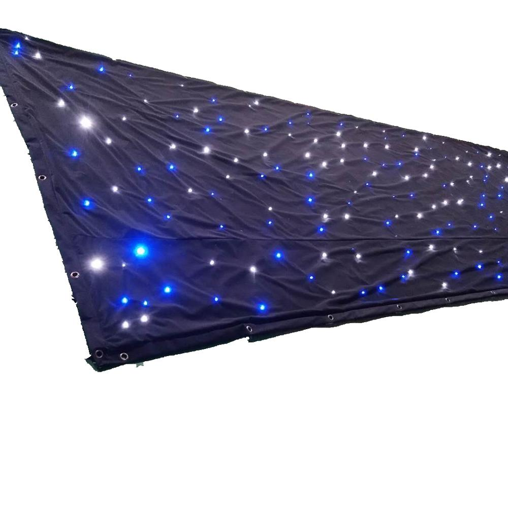 2020 portable flexible led video concepts curtain with twinkling for sale