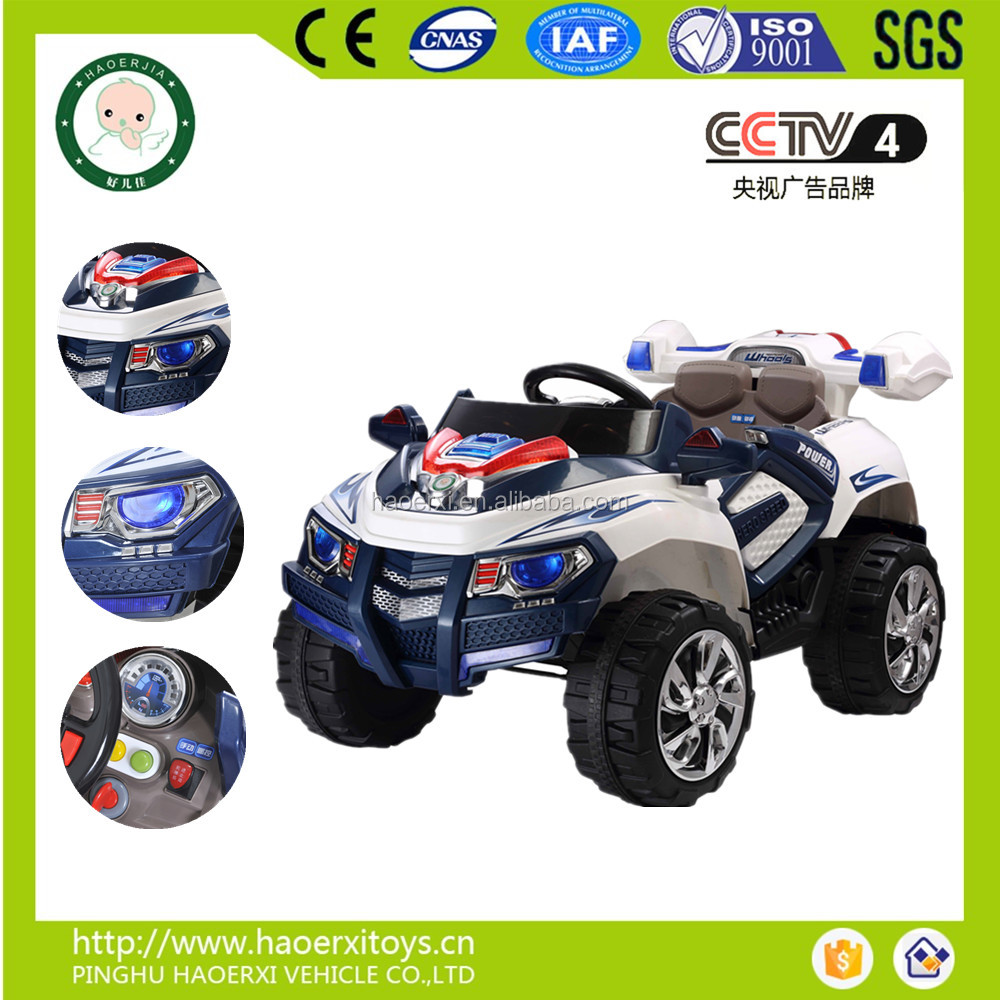 New Power four wheels 12 volt kids ride on car with R/C Big size children electric toy car