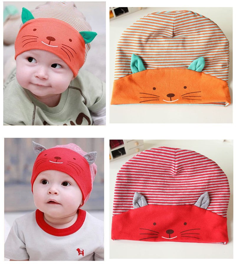 74ed570d491 2019 Fashion Winter Baby Cap New Lovely Cute Baby Boy Toodler Infant ...