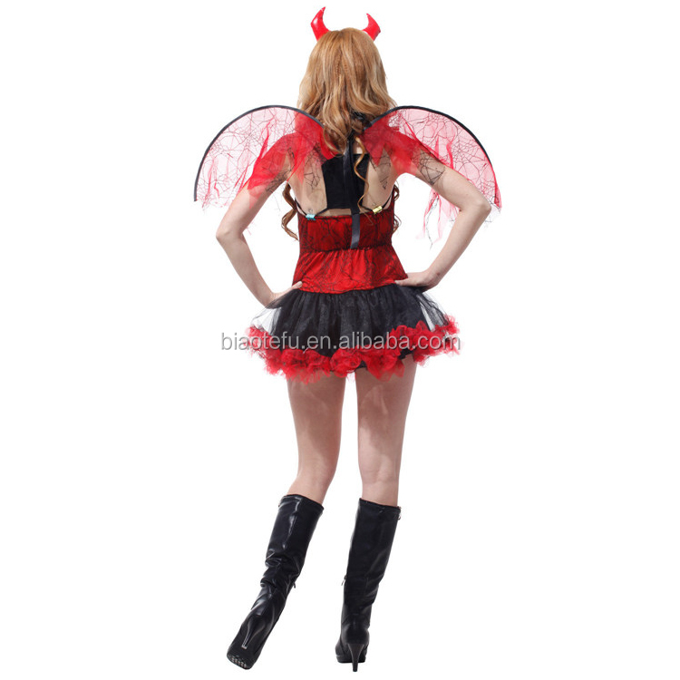 halloween woman ox horn devil cosplay costumes