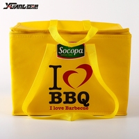 wholesale fashion waterproof polyester cooler lunch bag frozen food