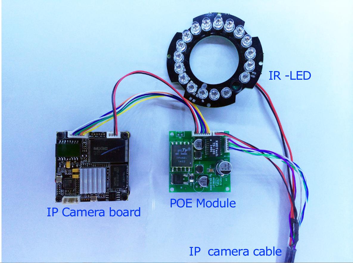 SDAPO PM3812R V2.0 PD  poe ip camera module 48V to 12V1A poe module