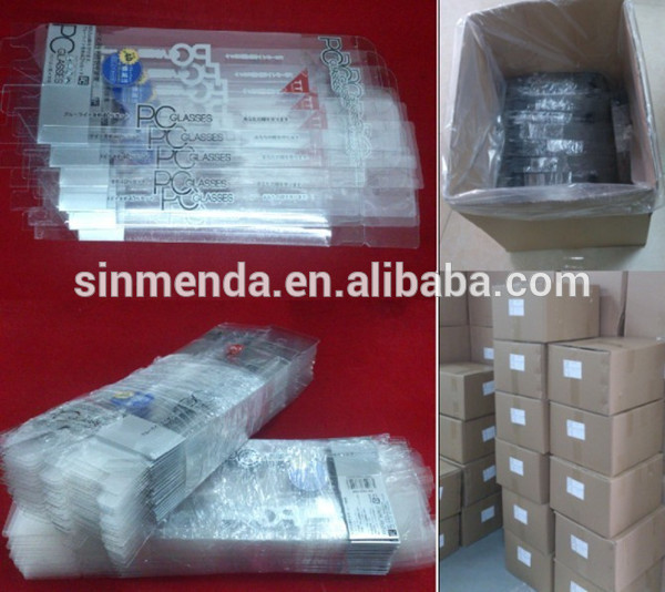 New product pvc folding packaging box crystal clear