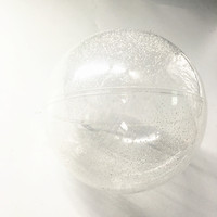 Wholesale clear glass ball ornament christmas decoration ball