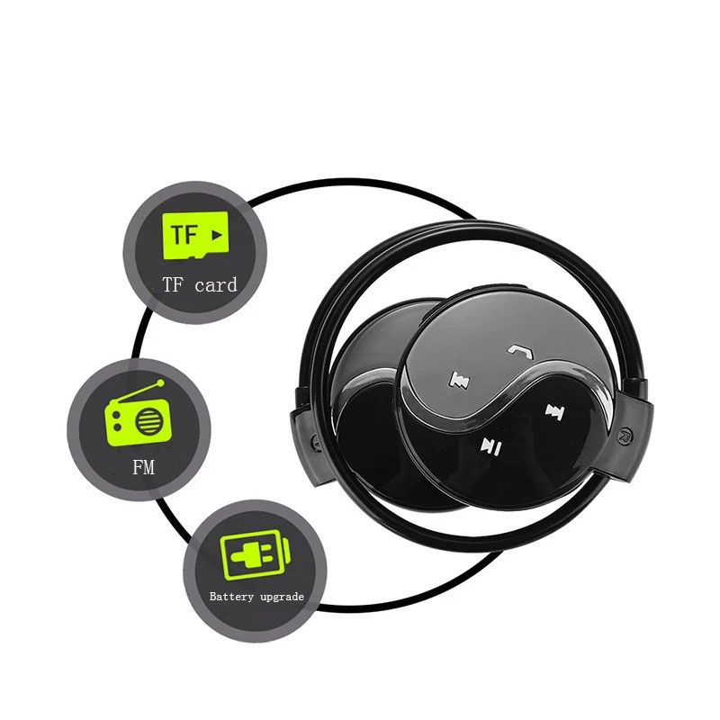 Bluetooth Earphone Wireless Headphone Sport Earphone Waterproof Headset noise reduction Stereo with Mic wireless headset sport