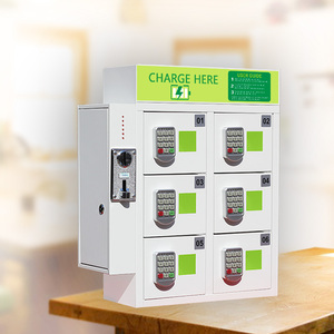 Mobile Phone Power Station/ Smart Phone Quick Charger Kiosk/ Cell Phone Charging Vending Machine