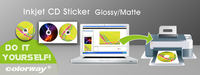 Self-adhesive Cd Sticker Paper Size - Buy Cd Sticker Paper Size,Cd ...