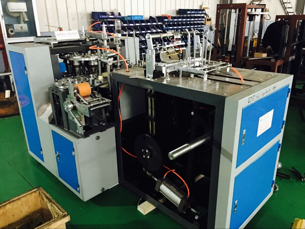 Automatic Disposable Glass Paper Cup Making Machine,Ultrasonic ...
