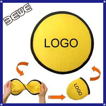OEM Logo Promotional Cheap Custom Foldable Frisbee