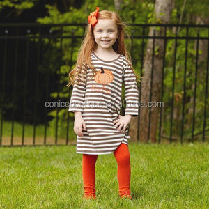 Girl clothes sets children boutique clothing fall warm outfits with long sleeve