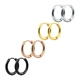 316L Stainless Steel 8/10/12/14/16/18mm Small Hoop Fashion Earrings Manufacturers