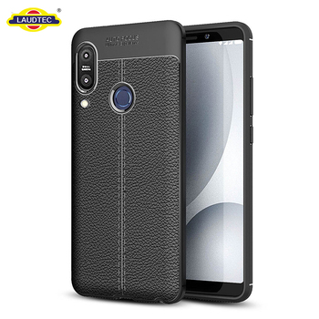 For Asus Zenfone Max Pro M1 Case Leather Pattern Tpu Phone Case