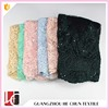 WHF-3820 Hechun More Color African Velvet Lace for Fashion Dress