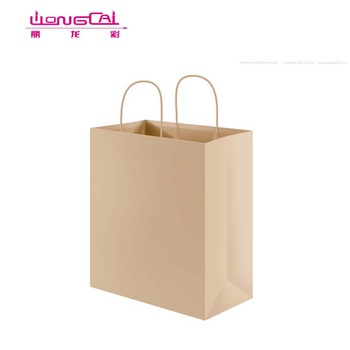 China Manufacturers Laminated Shopping Bag Printing For Garment