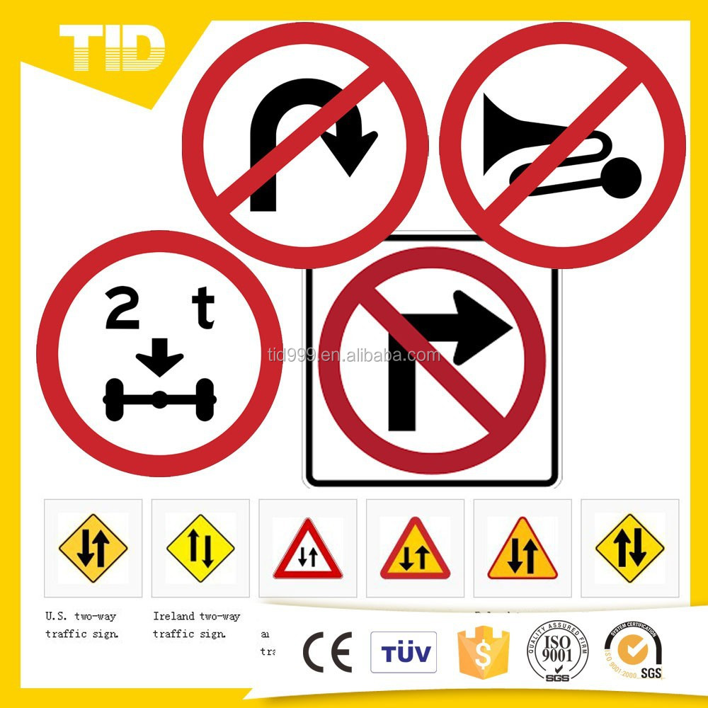 Customized advertising road signs for road safety