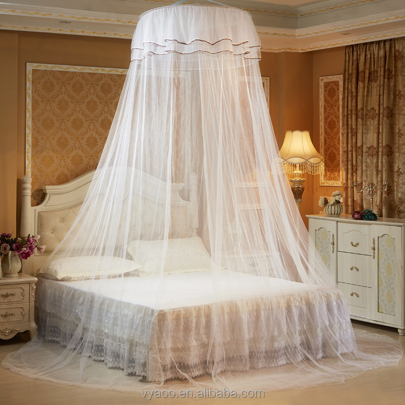 Ceiling dome mosquito nets plus high ceilings lace princess fresh mosquito nets to send stick hooks to avoid installation