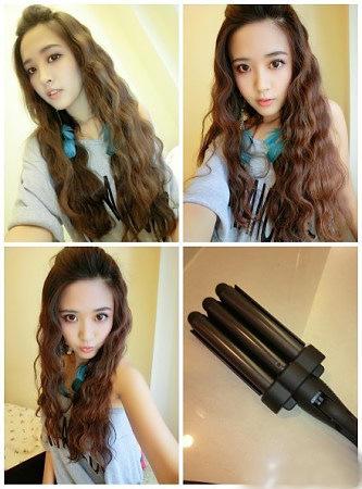 Marvelous 2015 25Mm 28Mm King Size Fashion Hairstyle Tools 3 Barrels Big Short Hairstyles Gunalazisus
